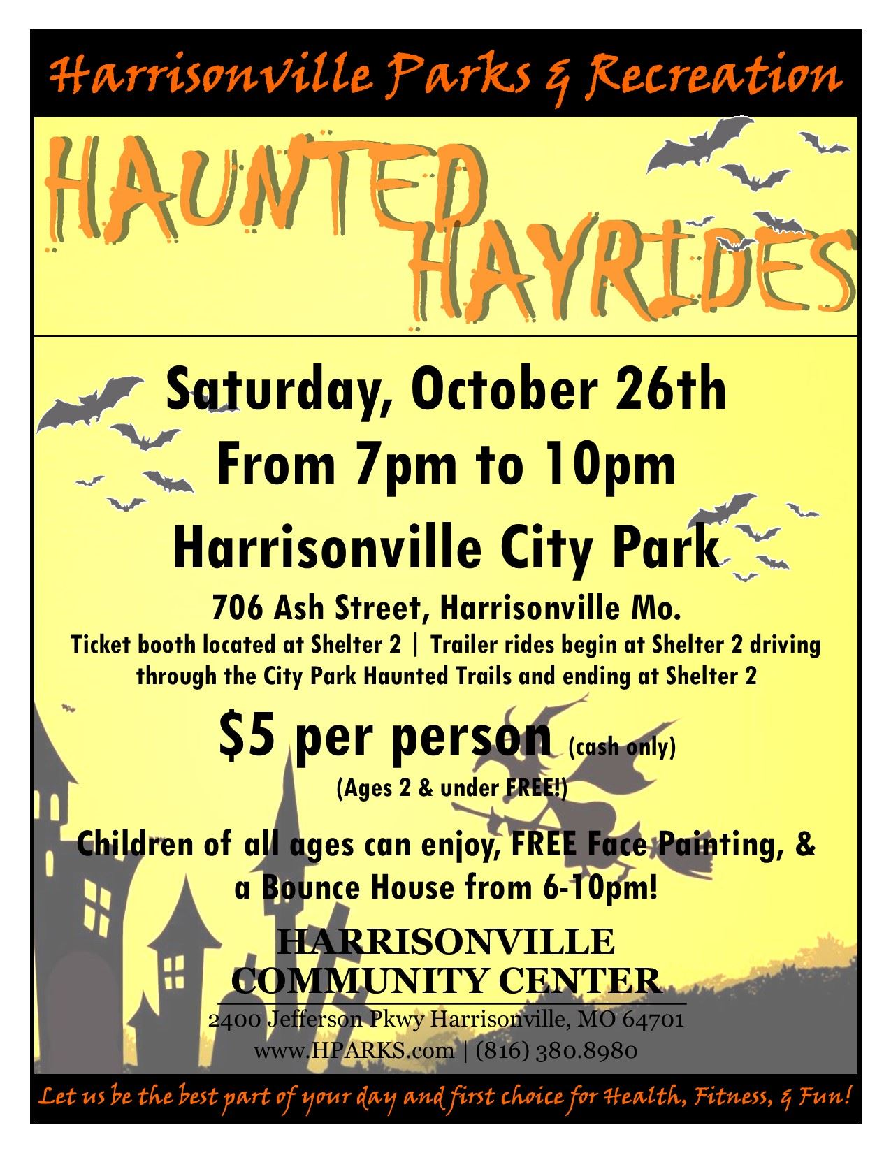 Haunted Hayride 2019