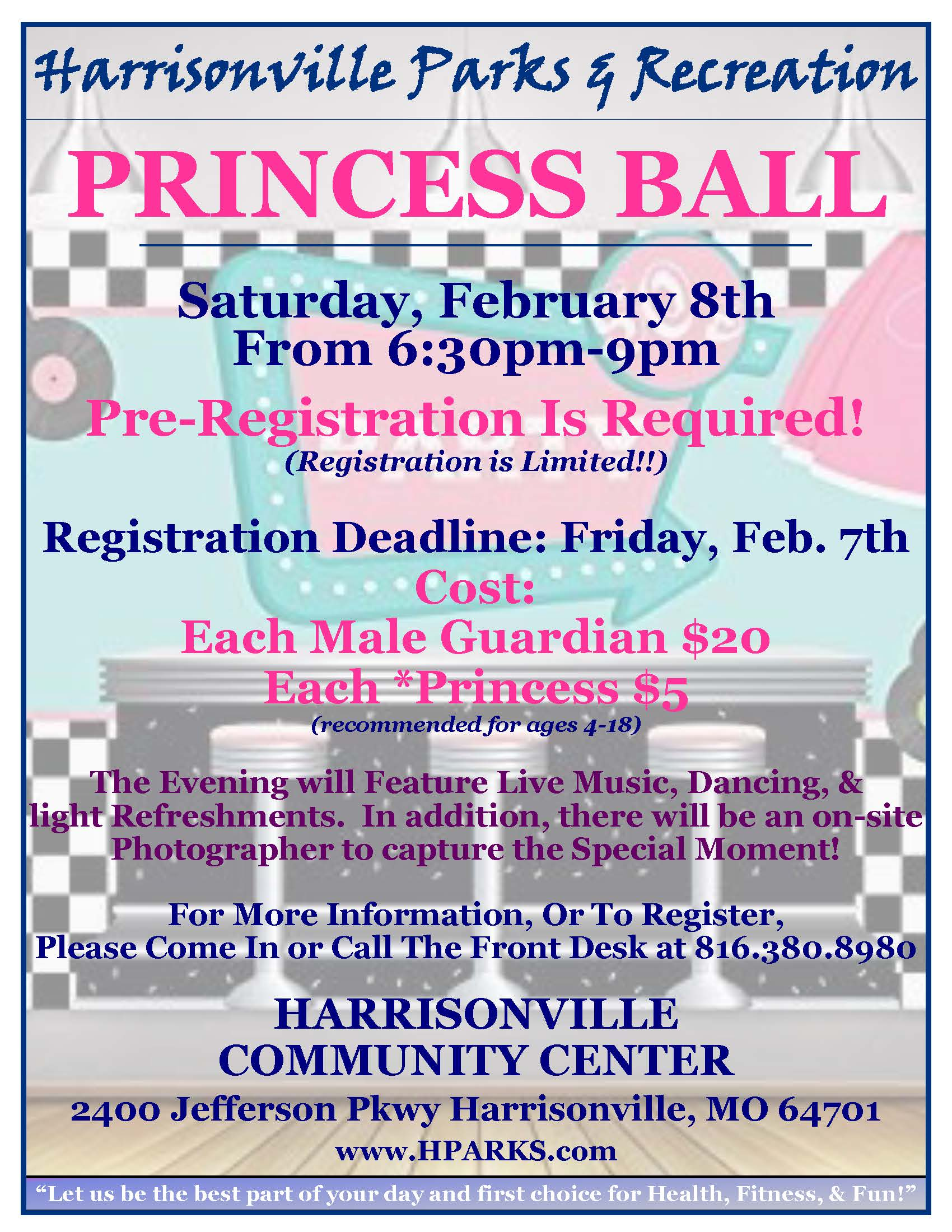 Princess Ball Flyer 2020